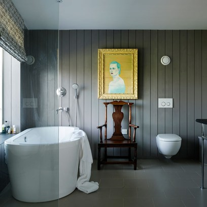 slate bathroom design