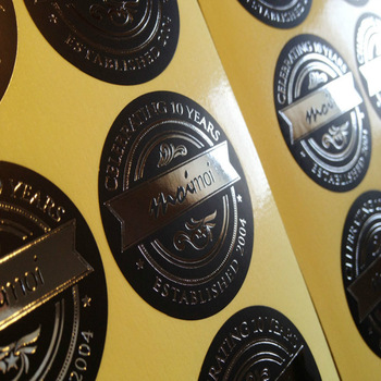 Custom-Stickers-Design-Gold-foil-labels-stickers