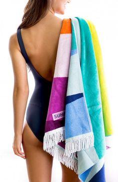 sunnylife towels